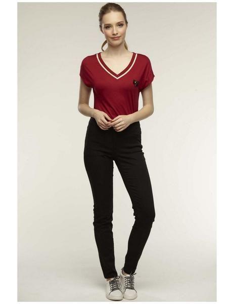 Pantalones Naf Naf Elasticos Negros Para Mujer Pantalones Naf Naf Pantalones Mujer Pantalones