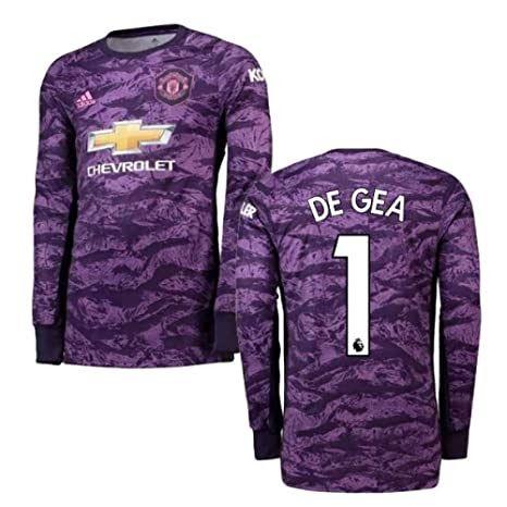 2019 2020 Man Utd Adidas Home Goalkeeper Football Soccer T Manchester United 19 20 Goalkeepe In 2020 Manchester United Goalkeeper Kit Soccer Shirts Goalkeeper Shirts
