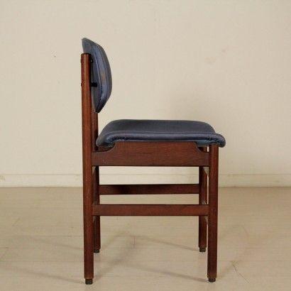 Tre sedie pieghevoli in legno massello anni 60 ottime condizioni vintage. Sedie Anni 60 Tavolo E Sedie Sedie Teak