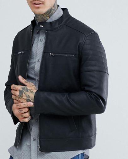 10 Best Men S Vegan Leather Jackets You Ll Wear Forever 2020 Leather Jacket Men Vegan Leather Jacket Mens Vegan