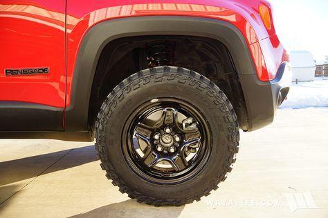 Jeep Renegade Trailhawk Daystar 1 5 Lift 225 75r16 Cooper Discoverer Stt Pros Pics Jeep Renegade Jeep Renegade Trailhawk Jeep Xj