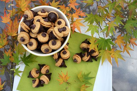Edible Fall Project: Chocolate Acorns