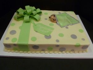 In 1946 Following The End Of The Second World War Eight Independent Grocers Decided Bear Baby Shower Cake Baby Shower Cakes For Boys Baby Shower Cake Designs
