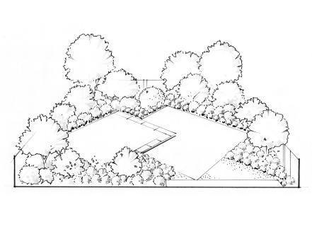 Rectangular Garden Design Wide Rectangular Garden Design Design Garden Rectangular Wide Garden Landscape Design Garden Design Layout Landscape Design
