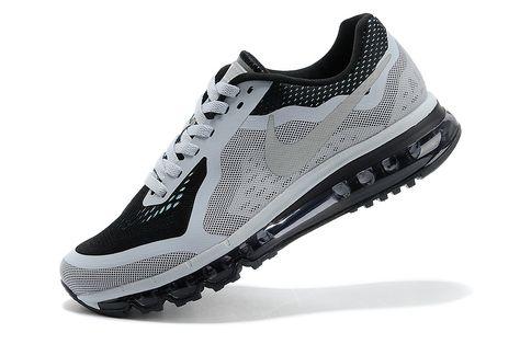 Nike Air Max 2014 Mens Grey Black Cheap
