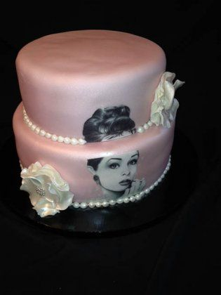 Audrey Hepburn Cake by Sweet Therapy Treats