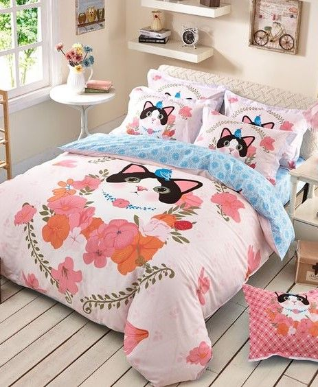 Cat Themed Bedroom Decorating Ideas 30 Ideas For Cat Lovers Girls Bedroom Sets Bedding Sets Bed Linens Luxury