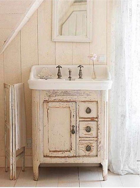 Beautiful mobili cucina shabby chic pictures. Arredare Il Bagno In Stile Shabby Chic Como Shabby Chic Arredamento E Decorare Il Bagno