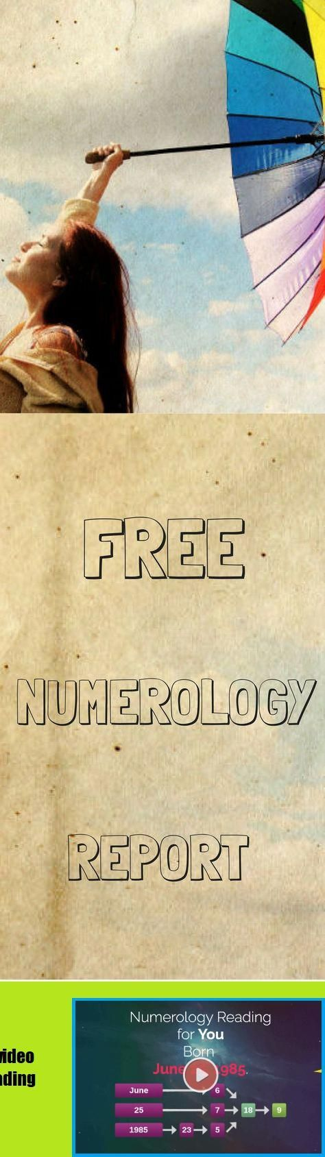 Get Your Free numerology Report Astrology Numerology, Numerology ...