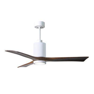Ventilateur Destratificateur Avec Lumiere Patricia Pa3 Wh Wa 52 En 2020 Ventilateur Ventilateur Plafond Luminaire Bois
