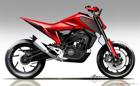 2018 Honda Cb125m Concept Bike Motos Esportivas Motos Motoca