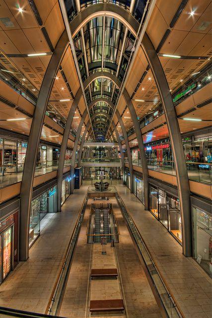 Europapassage HDR, Hamburg City, biggest mall in Hamburg, unfortunately it's always soooo crowded.