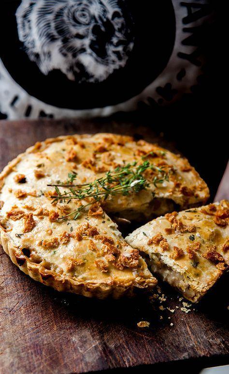Chicken Mushroom Shortcrust Pie From Scratch To Die For Recipe