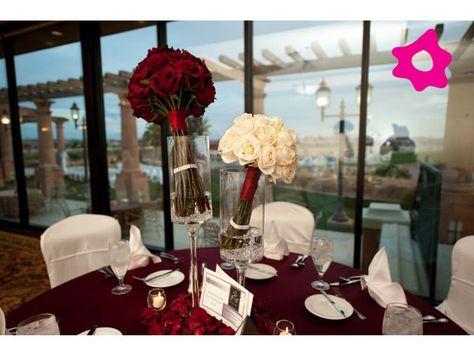 Centro de mesa para boda original