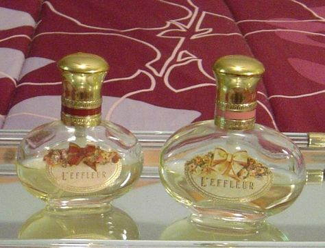 2 Coty L Effleur Cologne Sprays One Is 1 5 Fl Oz And The Other Is