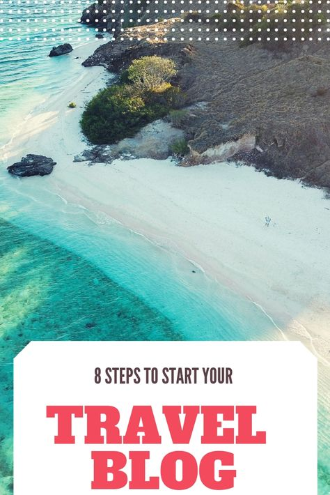 Do you want to start a Travel Blog? Don't know how to start? We can help you! Follow these 8 steps and start creating your Travel Blog