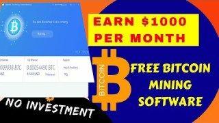 Bitcoin Free Auto Mining Software- HashFish Earn Bitocin with CPU