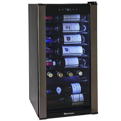 Vinoview 28 Bottle Compressor Wine Cooler Wine Chiller Wine Refrigerator Wine Coolers Drinks