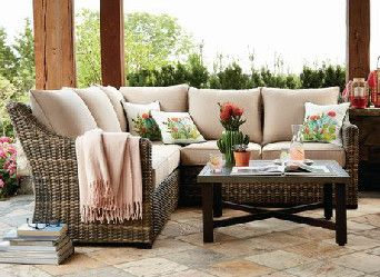 Hometrends Monaco 4 Piece Sectional Set Walmart Canada Outdoor