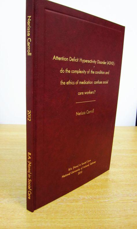 Dissertation bound bristol