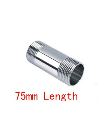Stainless Steel 304 Male to Male Hex Nipple Threaded Reducer Pipe Fitting LD