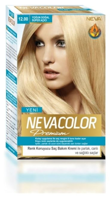 Nevacolor Premium Sac Boyasi 12 00 Yogun Dogal Super Acici Sac