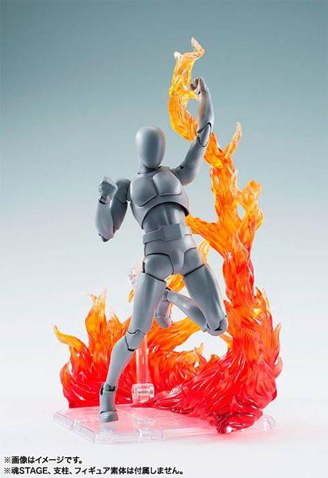 for tamashii animation Cartoon game character model effect wind orange