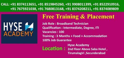 Job Roles By Hyse Pragathi On Jobs Hyderabad Free Training Job