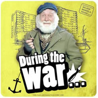 Image result for uncle albert during the war gif