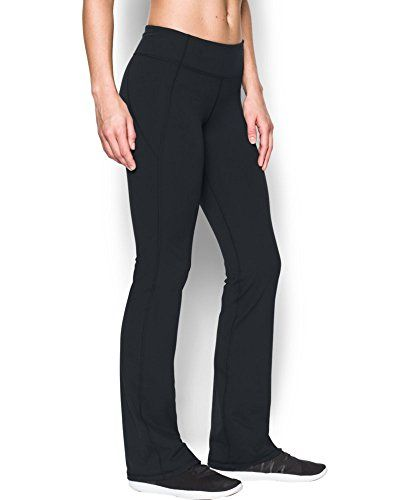 aa27c4e40ebcc9 Under Armour Womens Mirror Boot Cut Pant Black 001 Small ** Read more at  the image link.