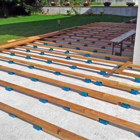 Was Brauche Ich Fur Den Bau Einer Holzterrasse Holzterrasse Holzboden Terrasse Terrasse Holz