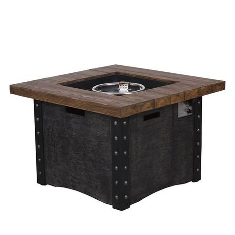 Backyard Creations Monroe Propane Gas Fire Pit Table At Menards Backyard Creations Monroe Propane Gas Fir Gas Firepit Gas Fire Pit Table Backyard Creations