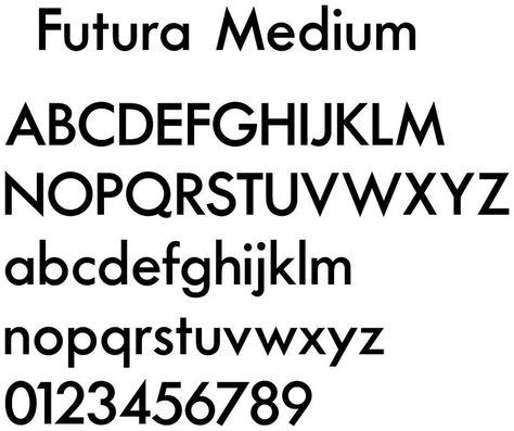 Futura Medium Italic Font - softatwork's diary