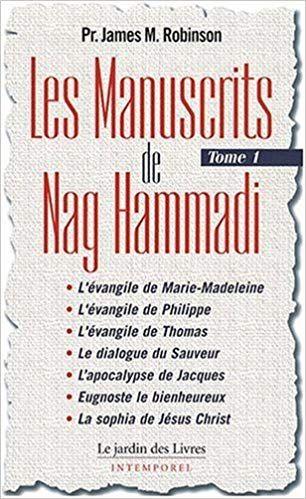 Telecharger Les Manuscrits De Nag Hammadi Tome 1 Pdf Livre