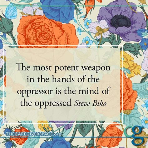 Don't let them take away your power  #oppression #stevebiko #claimyourpower #perspective #freeyourmind
