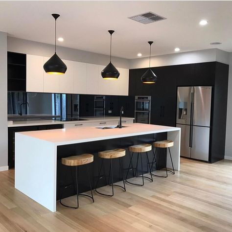 "1,092 Likes, 17 Comments - GlobeWest Furniture (@globewest) on Instagram: ""We know you love a little kitchen inspiration! Here, our Cruz barstools provide the perfect…"""