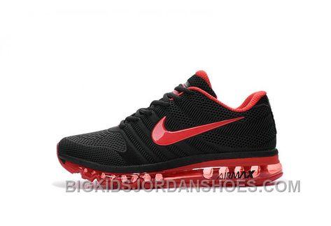 timeless design b4e99 32b89 Authentic Nike Air Max 2017 KPU Black Red Cheap To Buy GfXci