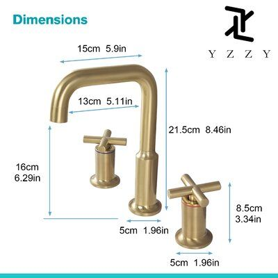 Yzzy Widespread Bathroom Faucet In 2021 Bathroom Faucets Widespread Bathroom Faucet Faucet