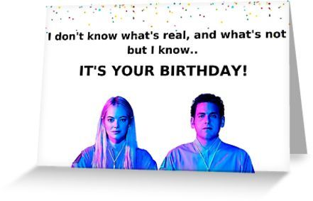 Maniac Tv Show Card Sticker Meme Greeting Cards Greeting Card By Willow Days Birthday Quotes Funny For Her Birthday Quotes For Him Birthday Quotes Funny