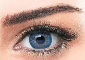 Blue Contacts For Brown Eye Lenses Will Add A Dash Of Twinkling Styles You Can Wear These Fashi Cosmetic Contact Lenses Natural Contact Lenses Eye Lens Colour