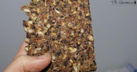 Basic raw cracker recipe | The Rawtarian