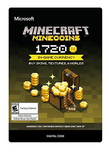Minecraft: Minecoins Pack: 1720 Coins - Xbox One [Digital Code