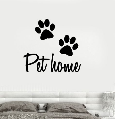 Details About Vinyl Wall Decal Pet Home Animal Dog Cat Veterinary