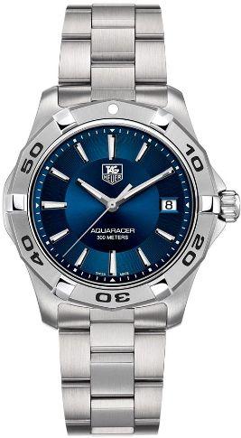 WAP1112.BA0831 TAG Heuer Aquaracer Blue Dial Steel Quartz Watch