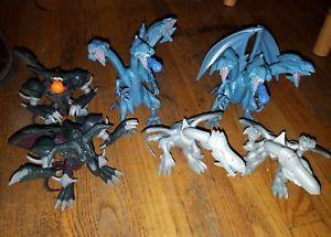 Mega Bloks Plasma Dragons Fangrene Acid Dragon #9409