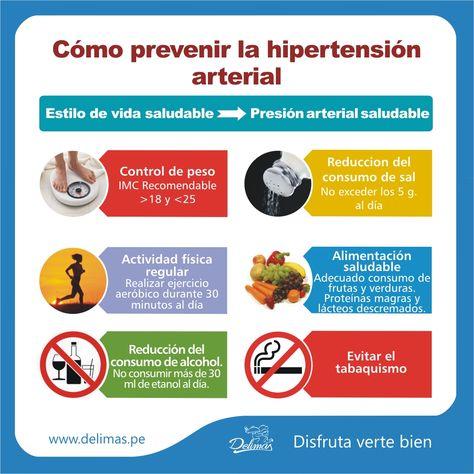 pautas de presión arterial saludable