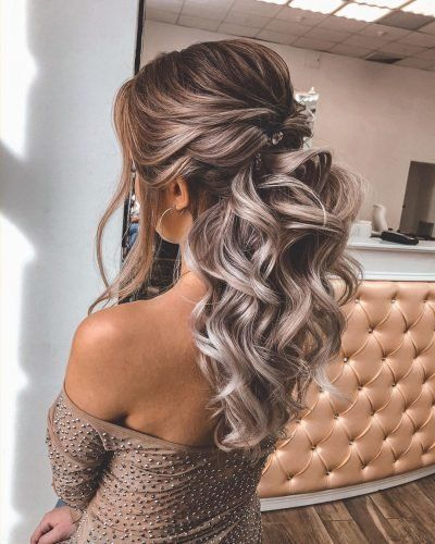 45 Perfect Half Up Half Down Wedding Hairstyles Half Up Wedding Hair Hair Styles Wedding Hairstyles For Long Hair
