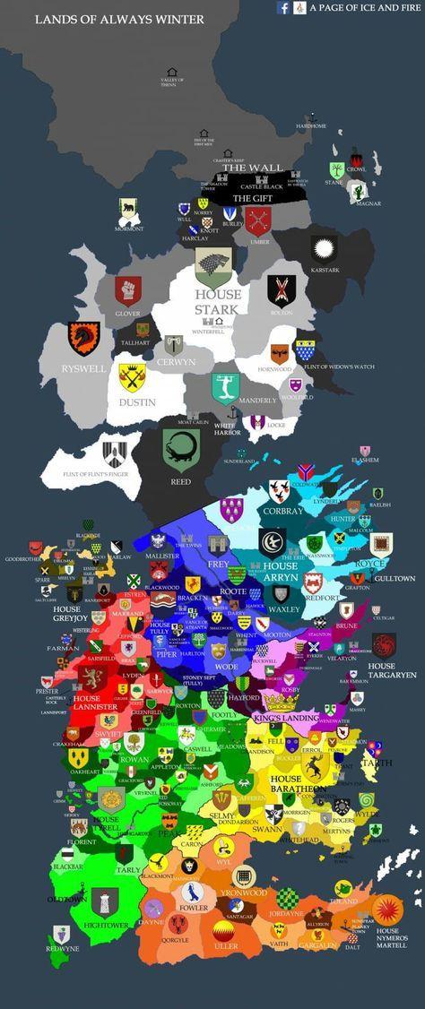 Carpet Westeros Map