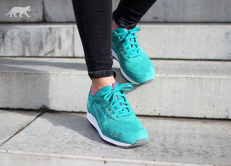 factory authentic e349c 934a2 List of Pinterest asics gel lyte iii green tropical images ...