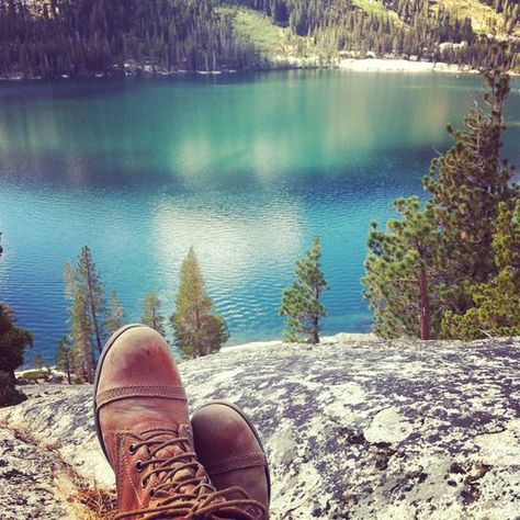 Echo Lake Trail - Team Jetpac's Trip to South Lake Tahoe #hiking #travel #California